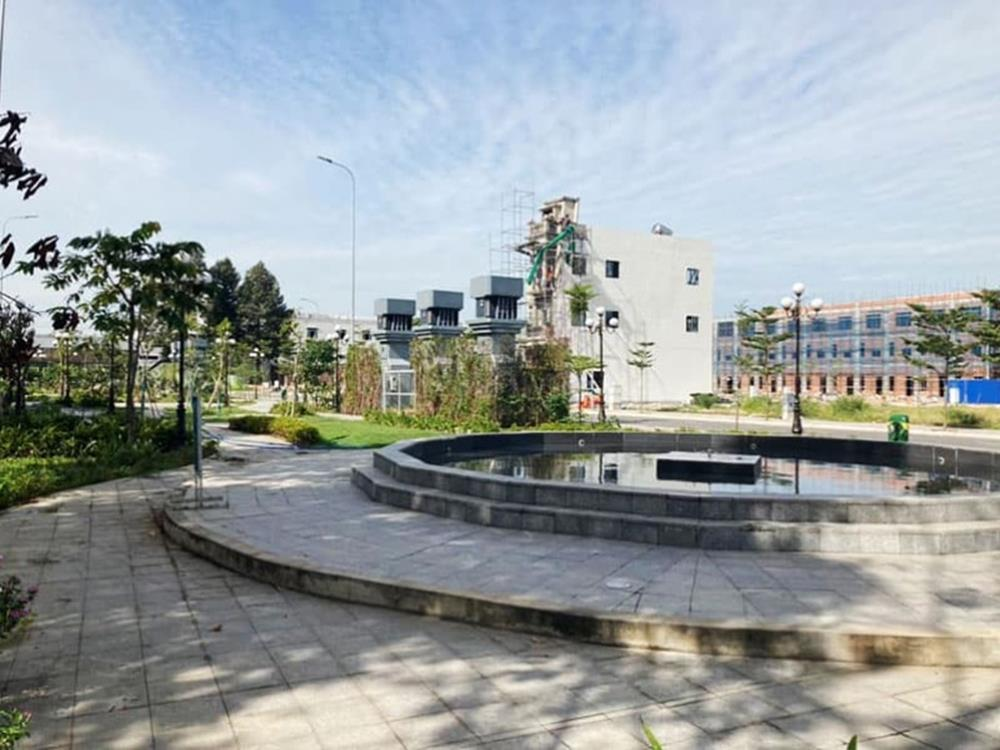 Hình ảnh thực tế công viên cây xanh Icon Central