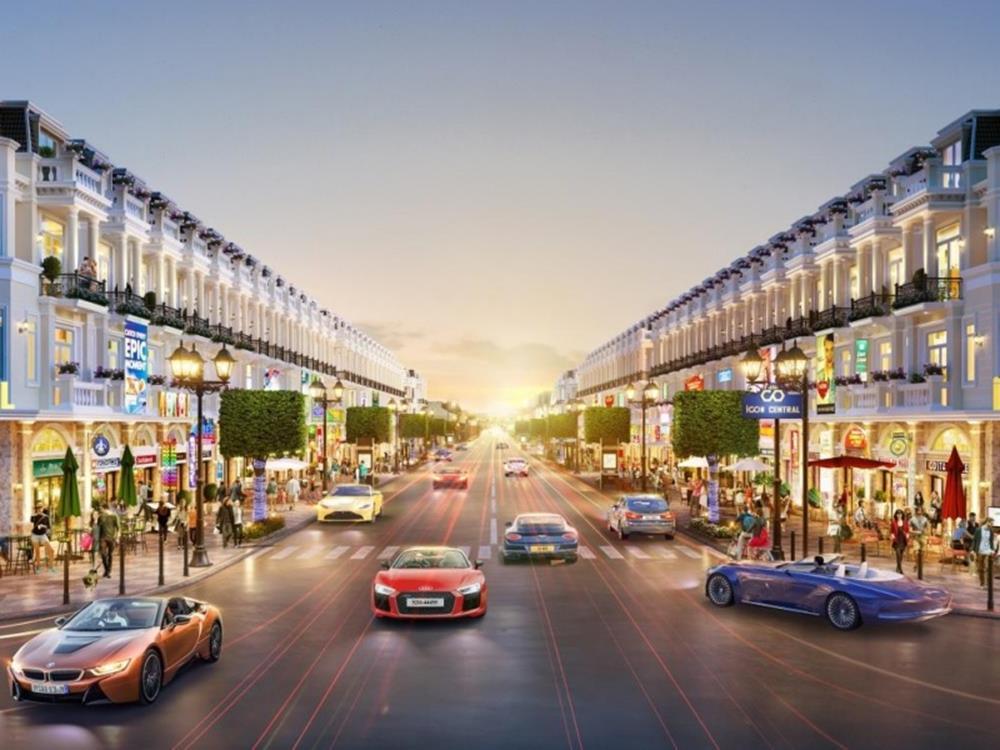Khu thương mại dự án Icon Central